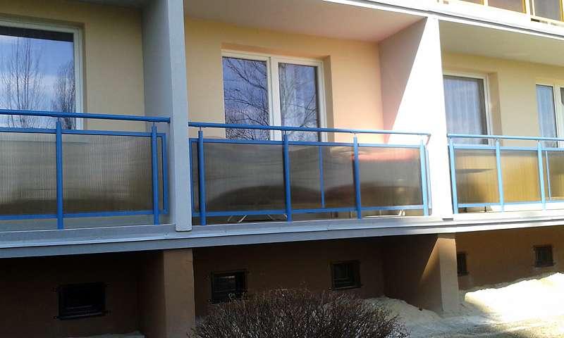 balkony stal nierdzewna
