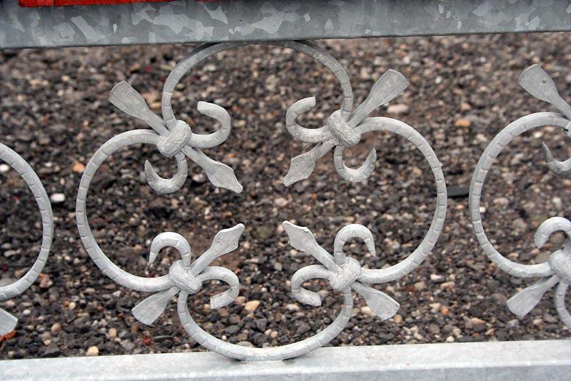 ogrodzenie ze stali