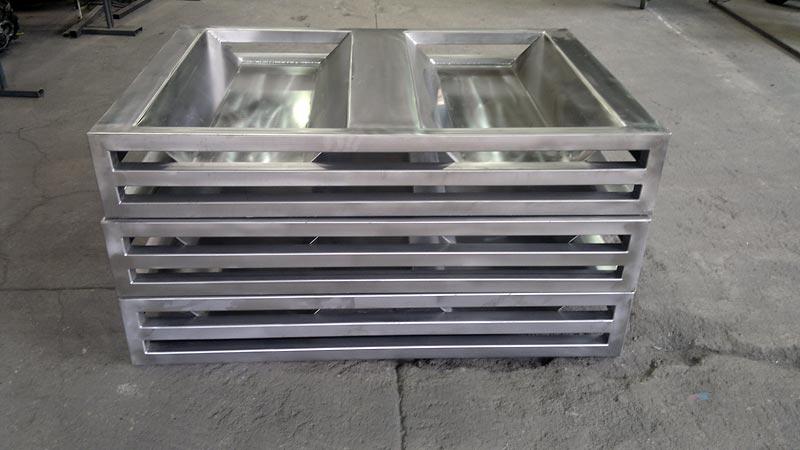 paleta metalowa ze stali nierdzewnej