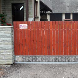 Ogrodzenia ze stali nierdzewnej, bramy, furtki